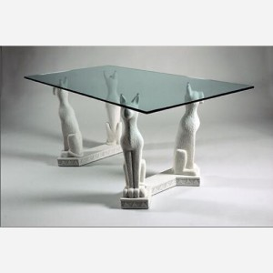 Tavolo fisso in vetro – MO845