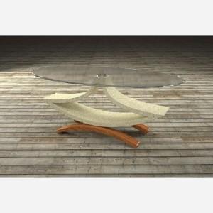 Tavolino da salotto in vetro – MO851