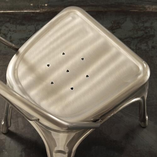 set 4 sedie in metallo 3
