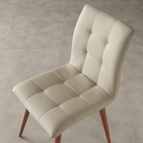 set 4 sedie imbottite
