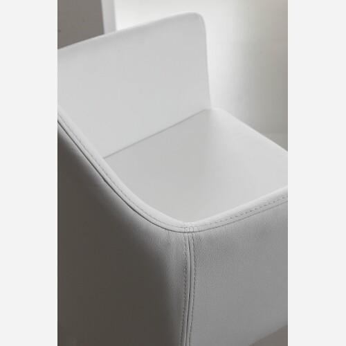 sedie imbottite in ecopelle