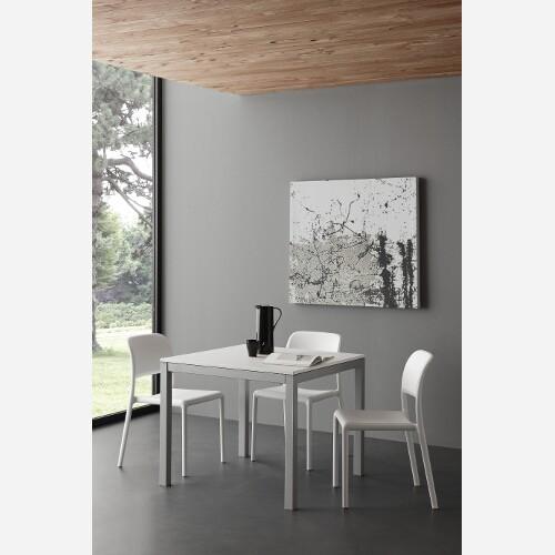 tavolo allungabile quadrato