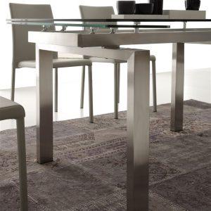 Tavolo allungabile in vetro Rimo – SG1565