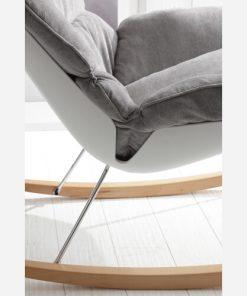 poltrona a dondolo in legno 1