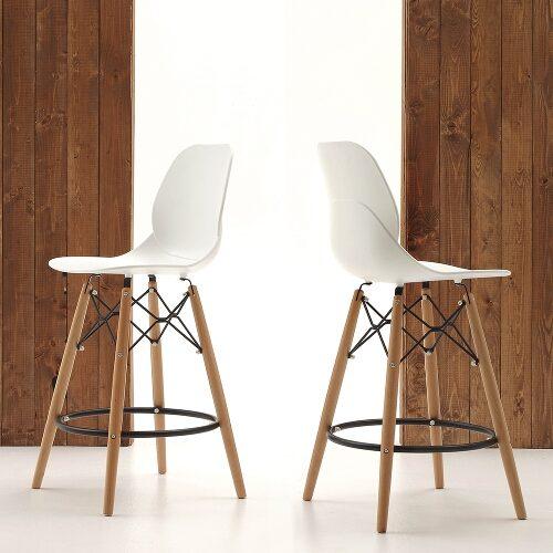 sgabelli in legno moderni
