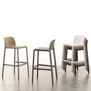Set 4 sgabelli design River Stool – SG1586