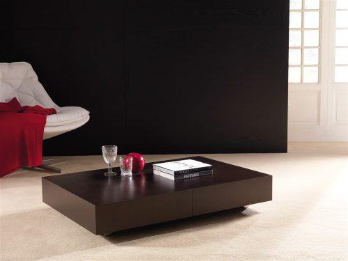 tavolino trasformabile block wengè