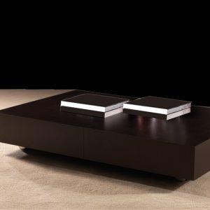tavolo trasformabile k2 wenge