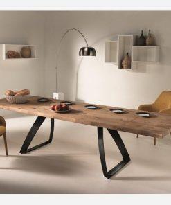 tavolo allungabile in legno da pranzo