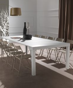 consolle in legno bianca