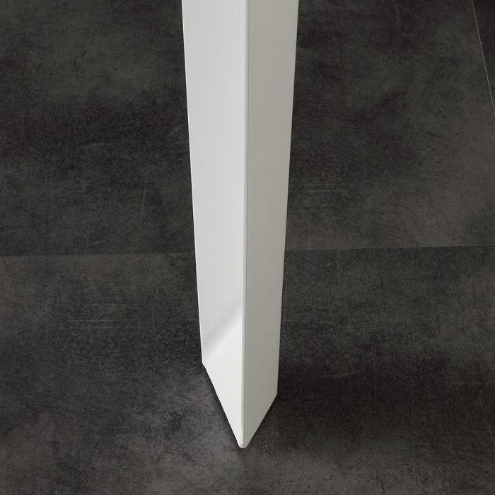 tavolo allungabile in vetro la seggiola long way gambe