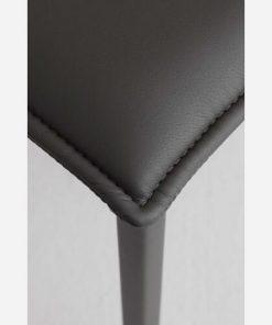 sedie da cucina in ecopelle Vogue dettagli 3