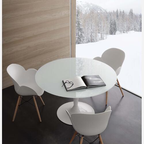 Emejing tavoli rotondi da cucina images home interior for Tavoli rotondi in vetro allungabili