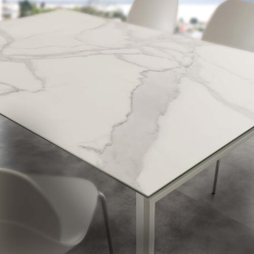 Tavolo da cucina allungabile in ceramica Ceramique - SG1604 ...