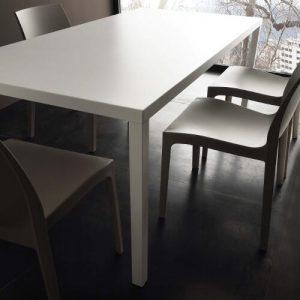 Tavolo da cucina fisso in metallo Carter – SG1597