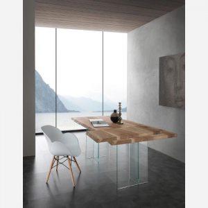 Tavolo da cucina in massello allungabile Apo – SG1595