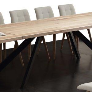tavolo allungabile in legno becca