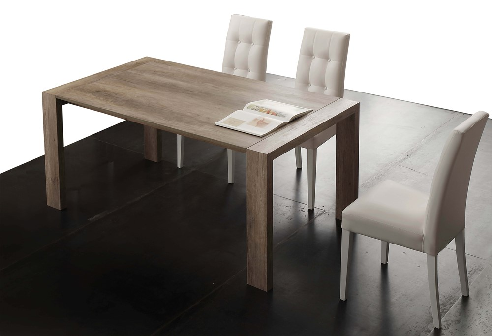 Tavolo da cucina allungabile in legno Cucco - SG1606 - Emporio3 ...