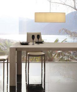 tavolo da cucina in legno allungabile moderno 1