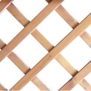 Grigliato in legno sovrapposto 1 metro quadro listello 11 x L26 mm foro 85 – CO27