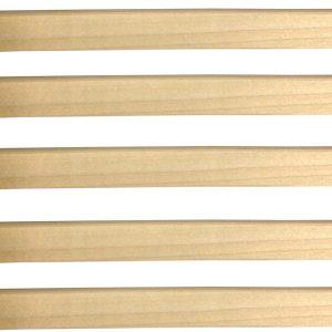 100 listelli non scanalati sovrapposti per grigliati in legno – CO30