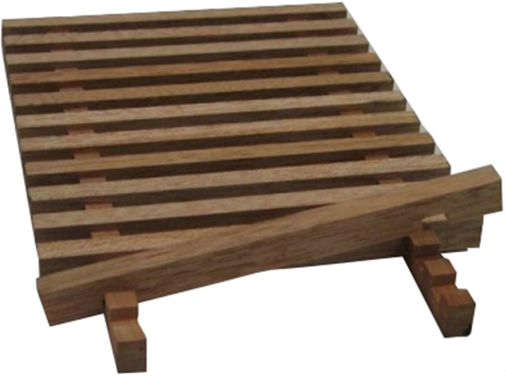 passerella in legno nautica