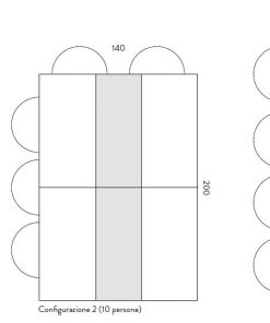 dimensioni tavolo tetris
