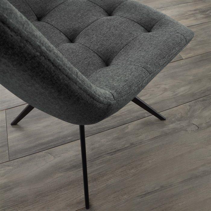 sedia da cucina carnaby tessuto-grigio