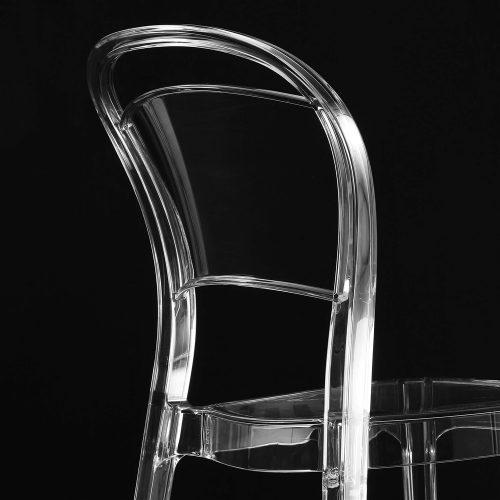 sedia da cucina trasparente voila 1