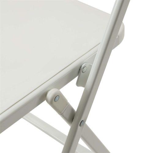 sedie da cucina pieghevoli bit bianche
