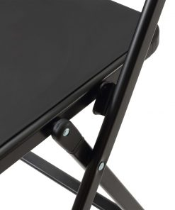 sedie da cucina pieghevoli bit nero