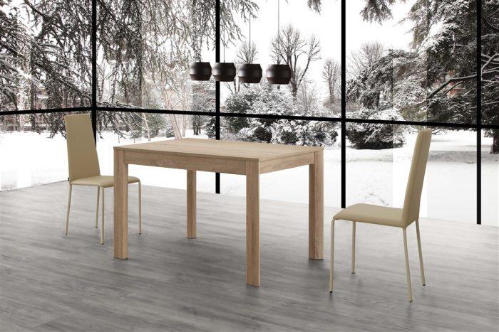 tavolo da cucina allungabile in legno norton