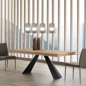Tavolo allungabile in legno Lavaredo – SG1636