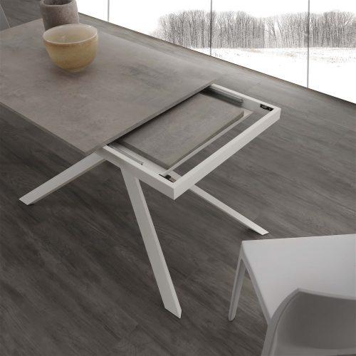 tavolo da cucina allungabile spiderino dettagli