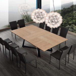 Tavolo allungabile in legno – Olimpo