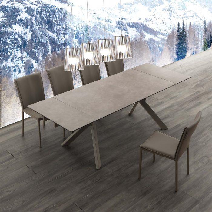 tavolo da cucina allungabile tokio ceramico 1