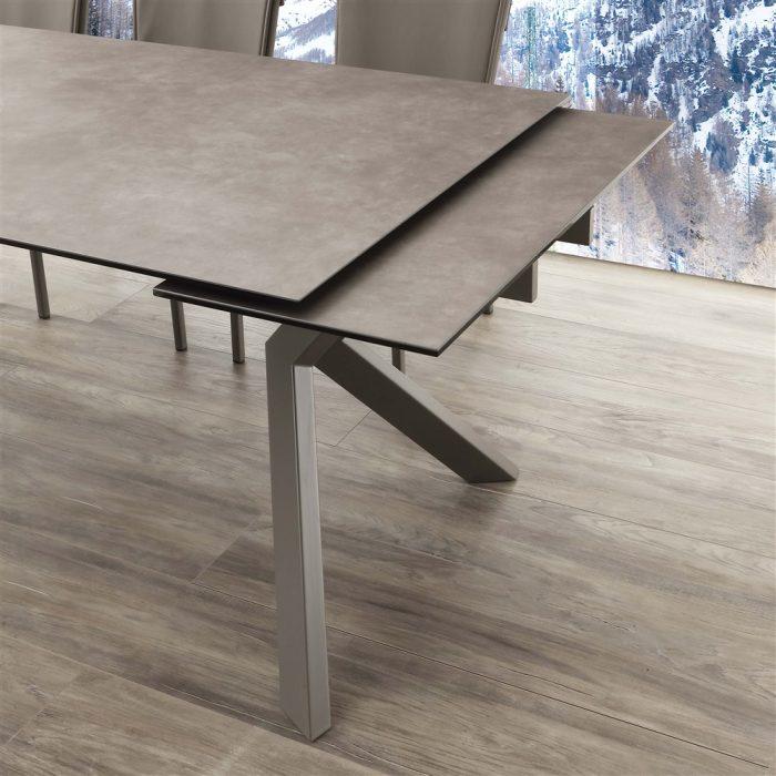 tavolo da cucina allungabile tokio ceramico 2