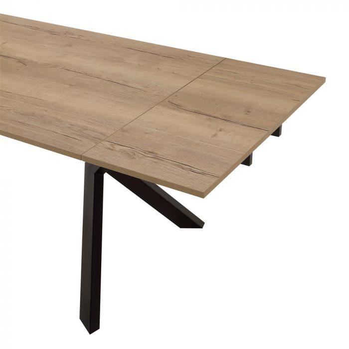 tavolo da cucina allungabile tokio legno dettagli 1