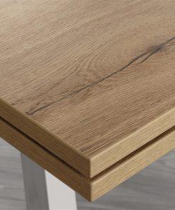 tavolo da cucina allungabile tokio legno dettagli