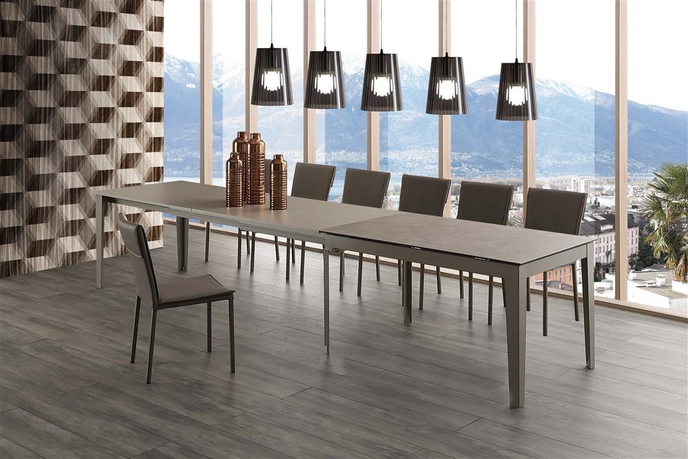 tavolo da cucina long way ceramico