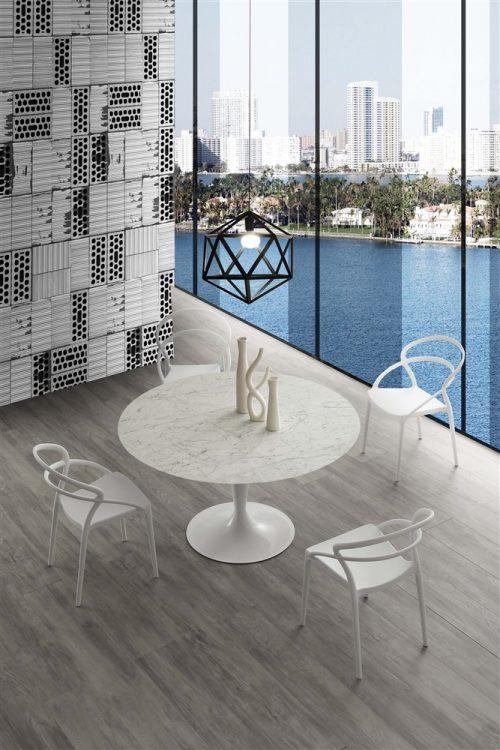 tavolo da cucina rotondo island marble