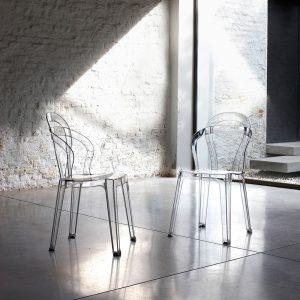 Set 4 sedie impilabili – Angrogna
