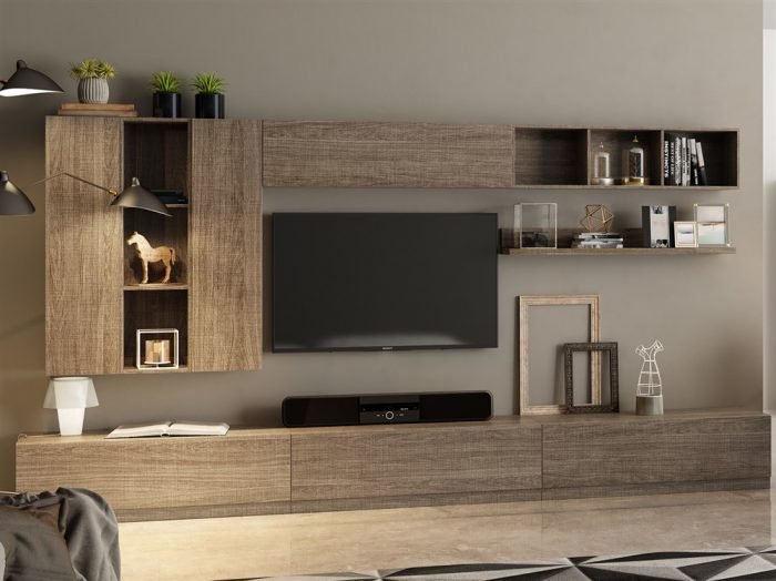 parete attrezzata moderna 10