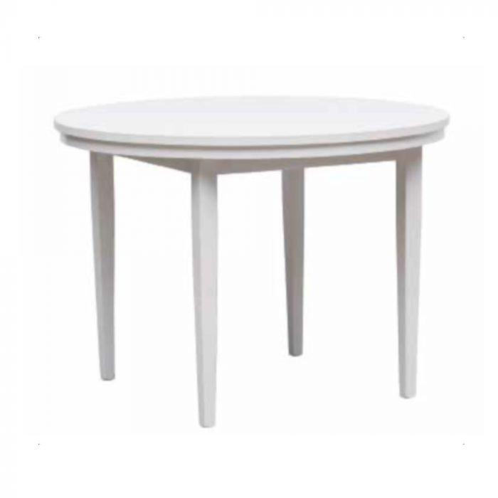 tavolo rotondo allungabile eko round la seggiola