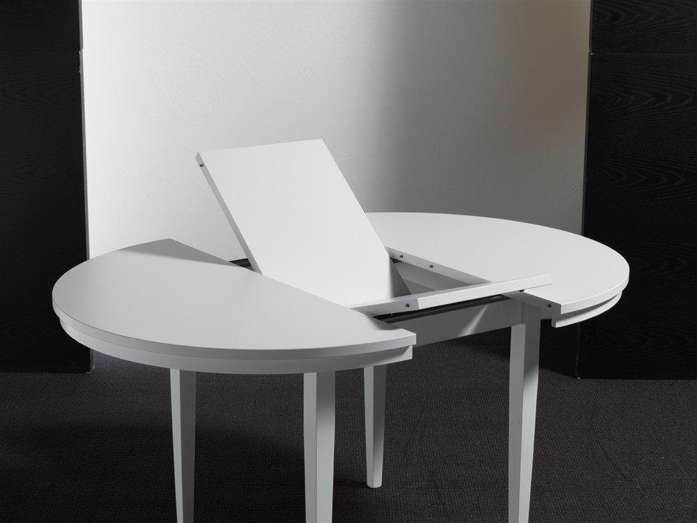 Tavolo rotondo allungabile in legno - Kula