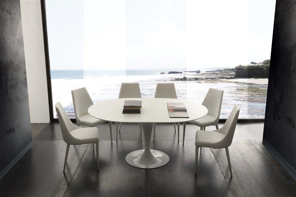 tavolo rotondo allungabile island La seggiola1
